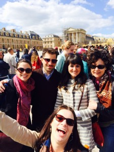 Versailles Maggie and her group  042814