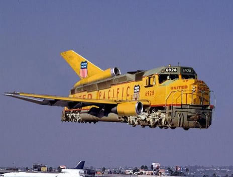 Trains vs. Planes