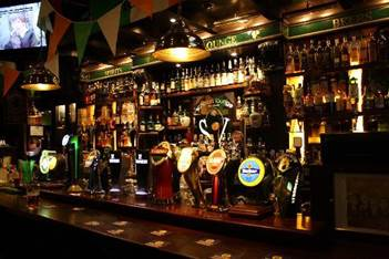 Irish Bars and American Football