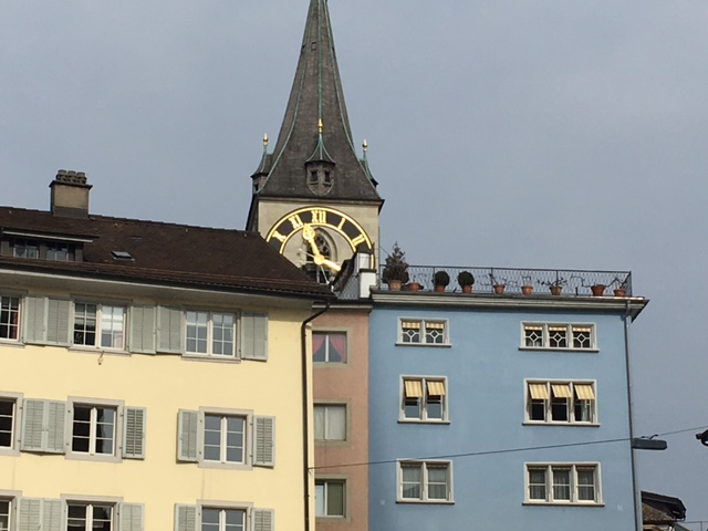 Zurich Pietro Place Peter Jones