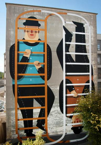 Roman Graffiti Pietro Place Peter Jones
