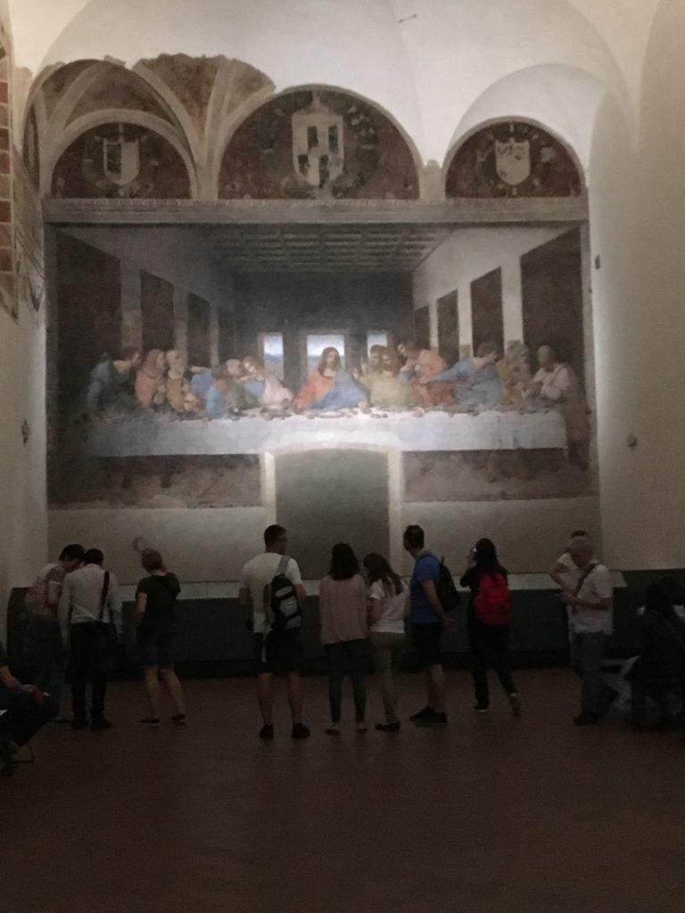 Leonardo Da Vinci and Armani