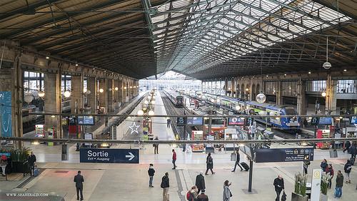 eurostar Gare du Nord photo